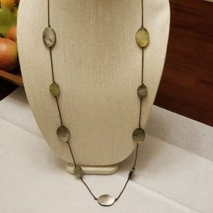 J. Jill Mother of Pearl Necklace